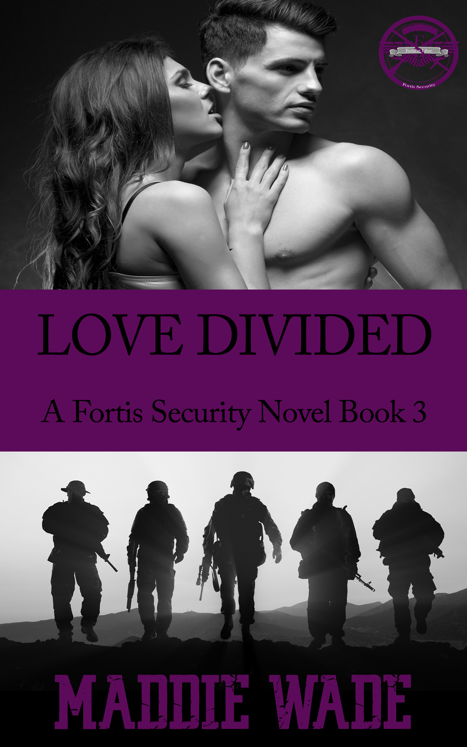 image of book cover named Love Divided