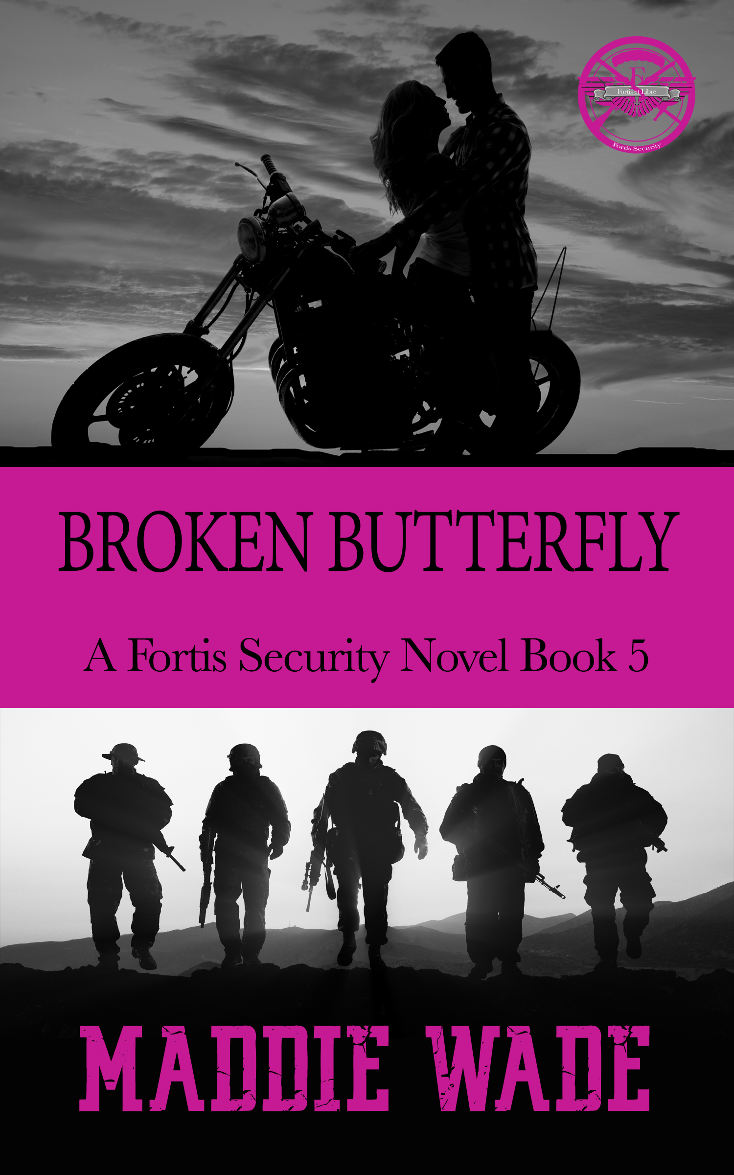 image of book cover named broken butterfly