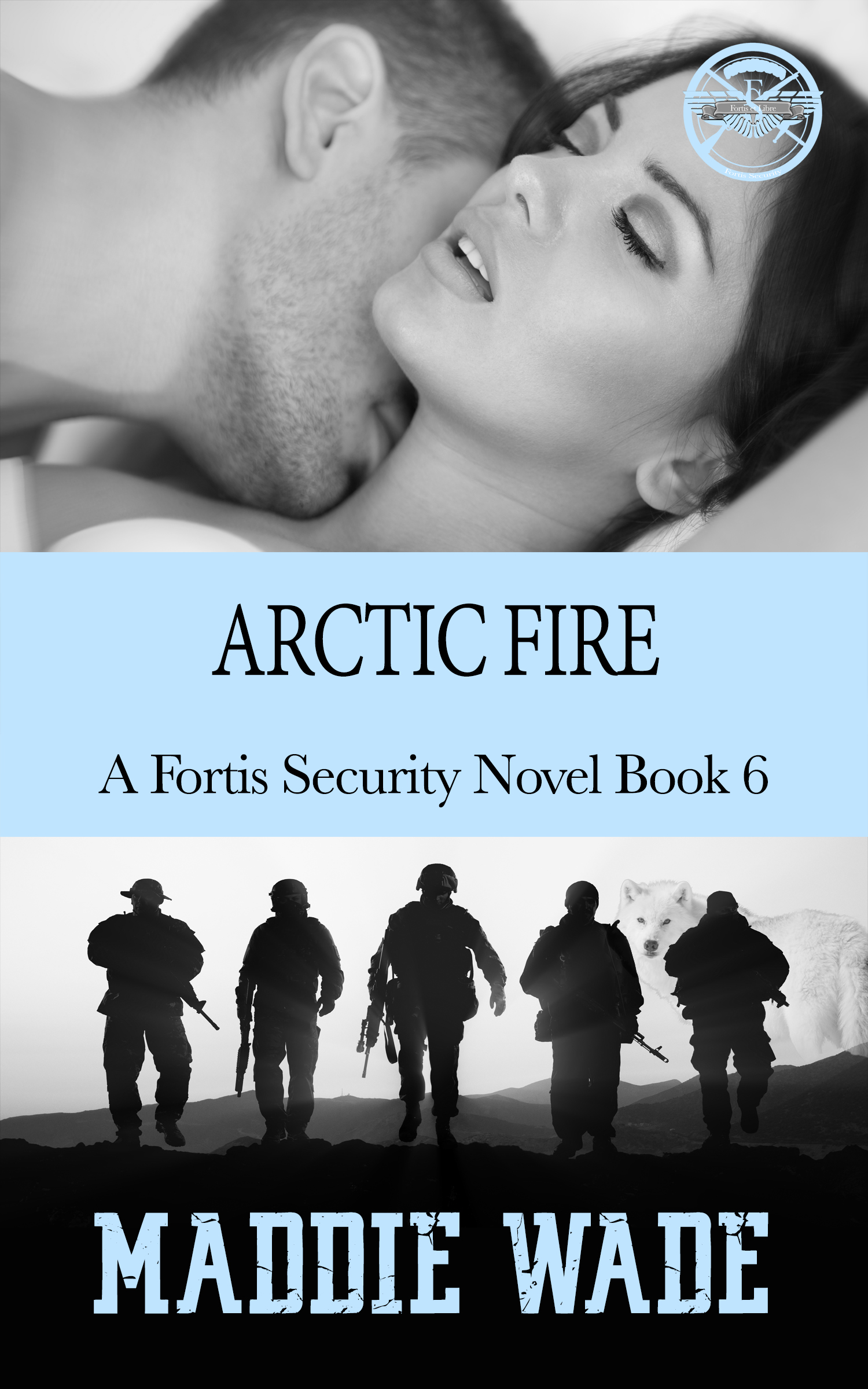 image of book cover named artic fire