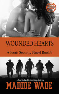 image of book cover named wonded hearts